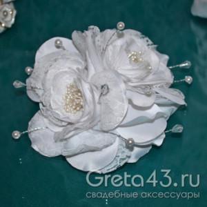 Шляпка с цветком To be bride